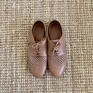 Hotter oxfords in tan leather. Size 9